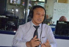 Spinal Health Education with Radio Suara Surabaya
